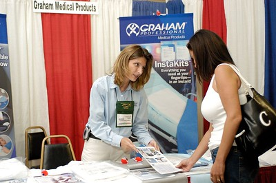 Graham Medical Products booth. Kentucky EMS Conference and Expo.