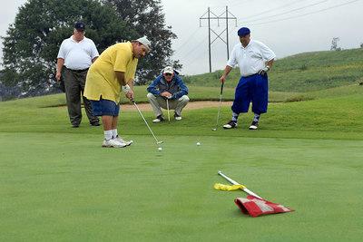 Kentucky EMS Golf Scramble. Summit County Club, Owensboro.  N37° 48.35' W87° 00.26'