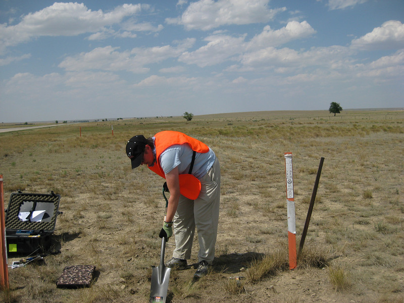 GPS Field Campaign, Rio Grande Rift Project, Eastern Colorado, July 2008<br /> <br /> Limon Airport 39.2684, -103.664<br /> <br /> Looking North