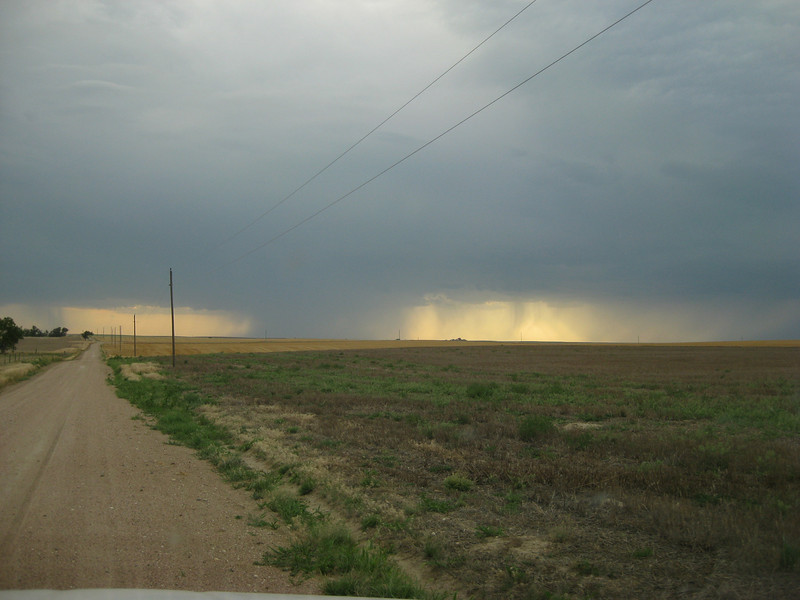 another thunderstorm on the plains, eastern Colorado
