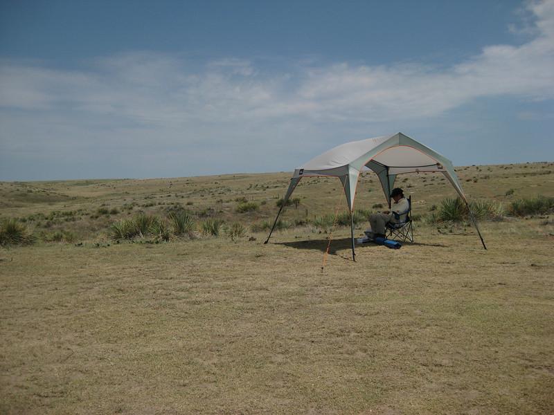 GPS Field Campaign, Rio Grande Rift Project, Eastern Colorado, July 2008<br /> <br /> Tr-corner