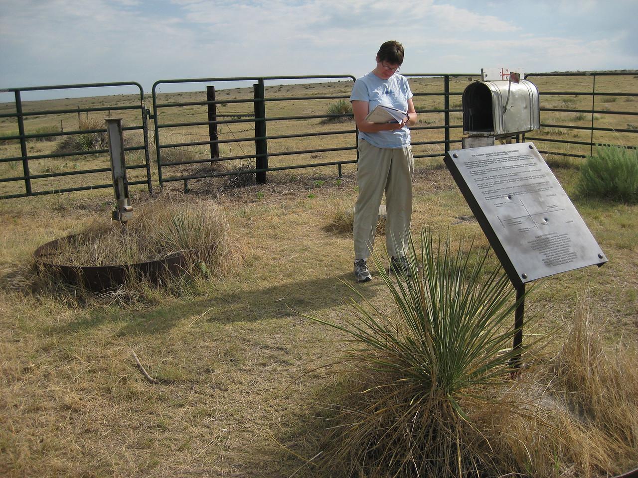 GPS Field Campaign, Rio Grande Rift Project, Eastern Colorado, July 2008<br /> <br /> Boundary Mon Co KS NE, 40.0032, -102.052