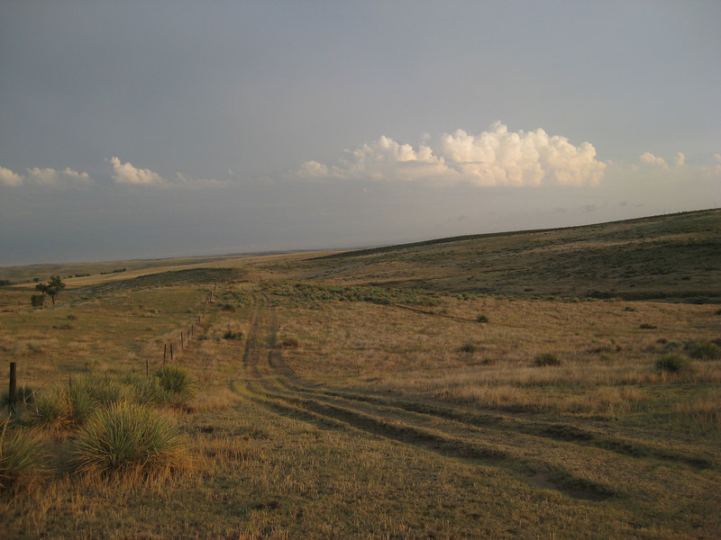 GPS Field Campaign, Rio Grande Rift Project, Eastern Colorado, July 2008<br /> <br /> After rain/hail storm