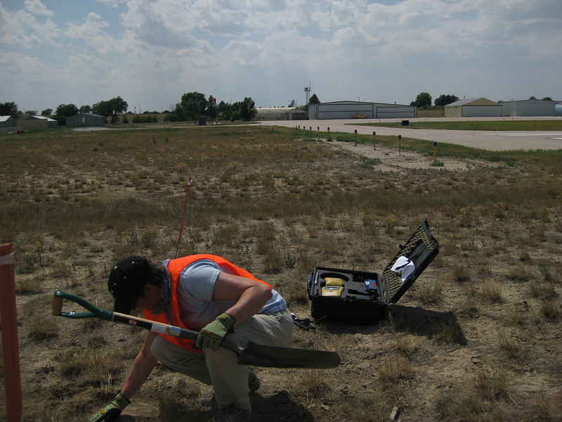 GPS Field Campaign, Rio Grande Rift Project, Eastern Colorado, July 2008<br /> <br /> Limon Airport 39.2684, -103.664<br /> <br /> Looking West