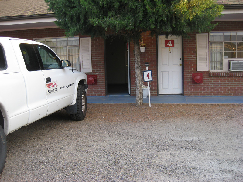 GPS Field Campaign, Rio Grande Rift Project, Eastern Colorado, July 2008<br /> <br /> Colonial Motel in Sterling, nice place however right next to noisy Railroad tracks!!!