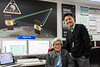 Ida Sann (left) is systems administator and John Kwok is the GRAIL Mission Planning and Sequencing Lead