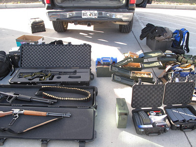 Inspection Refusal Leads To Illegal Firearms