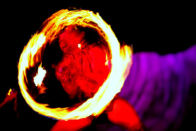 Fire Twirler - Kona, Hawaii