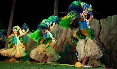 Hula Dancers - Kona, Hawaii