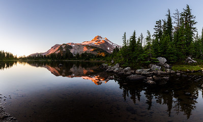 Mount Jefferson Sunrise Panorama