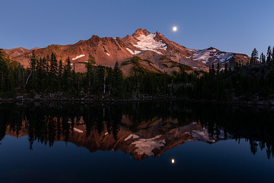 Mount Jefferson Moonrise