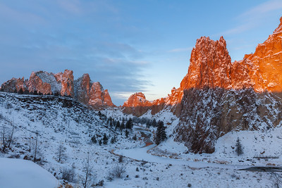 Smith Rock in Winter