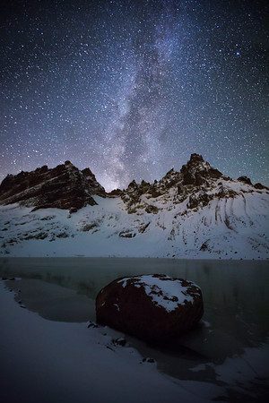 Milky Way Over Broken Top