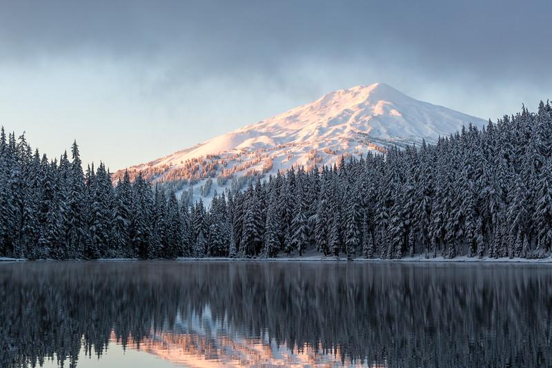 Mount Bachelor Winter Sunrise