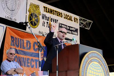 Labor Rally Hartford CT.5-1-11