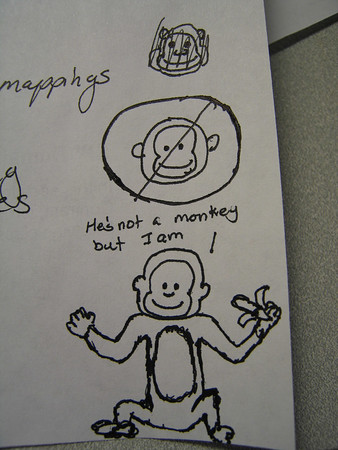 Monkey Drawing