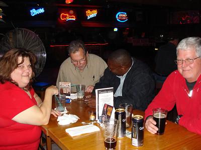 Carol, Doug, Greg and Richard, Buffet at Stoney Inn