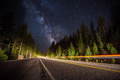 Milky Way Drivin'
