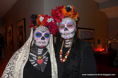 Halloween 2013 - what fabulous make-up.