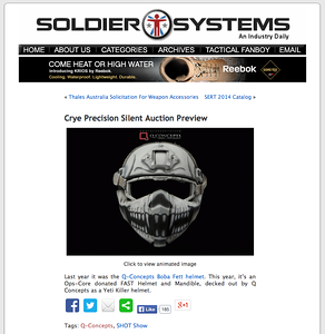 Soldier Systems Daily | Web