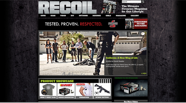 RECOIL Magazine | Web