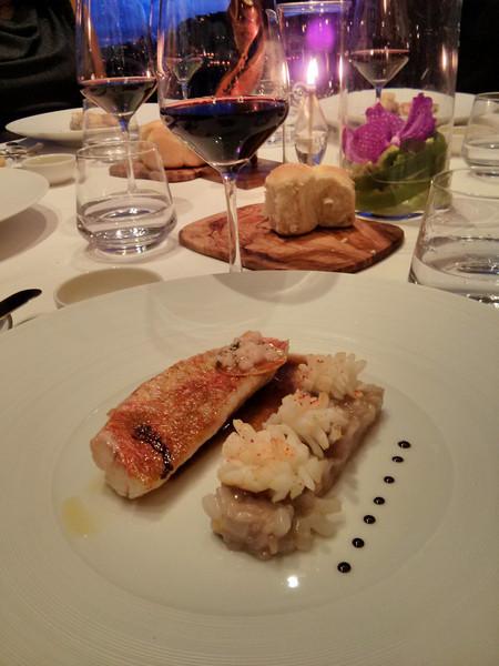 Dinner at Château Eza