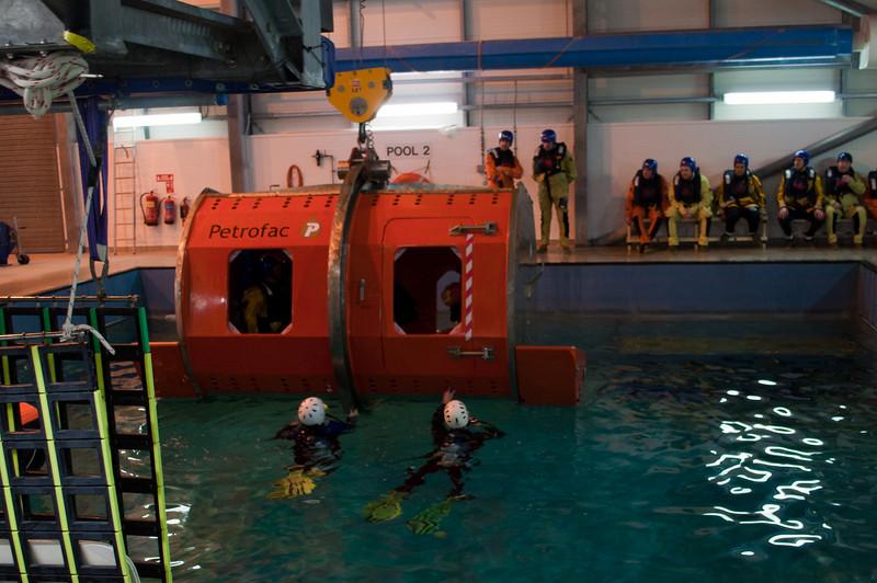 January 19 - Helicopter evacuation simulator