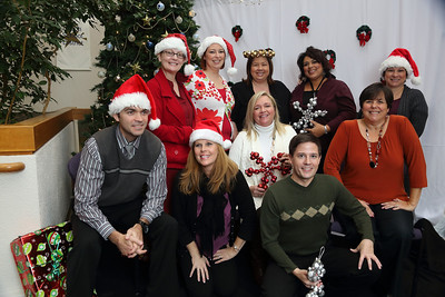 Santa Visits SCOE 2012