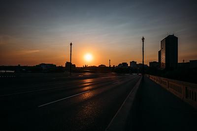Broadway Sunset