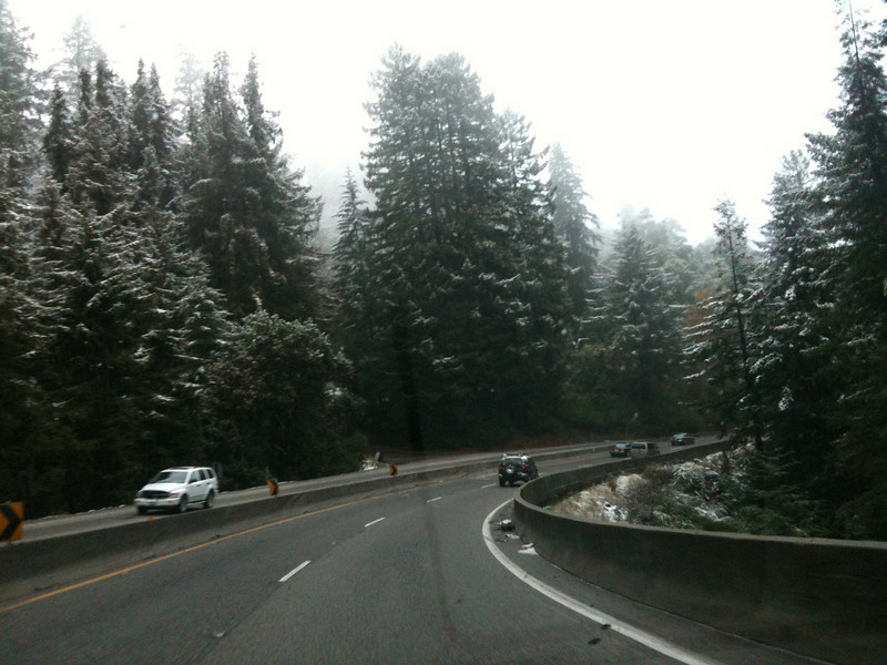 Snow on Hwy 17