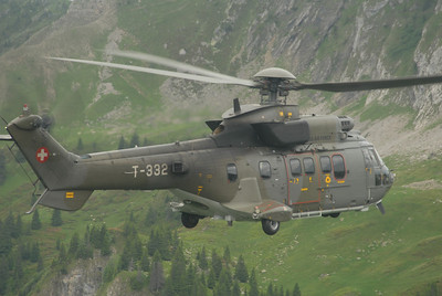 AS532 Cougar of Swiss Air Force