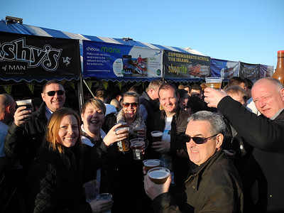 TT at  Bushy's Beer Tent 30.05.14
