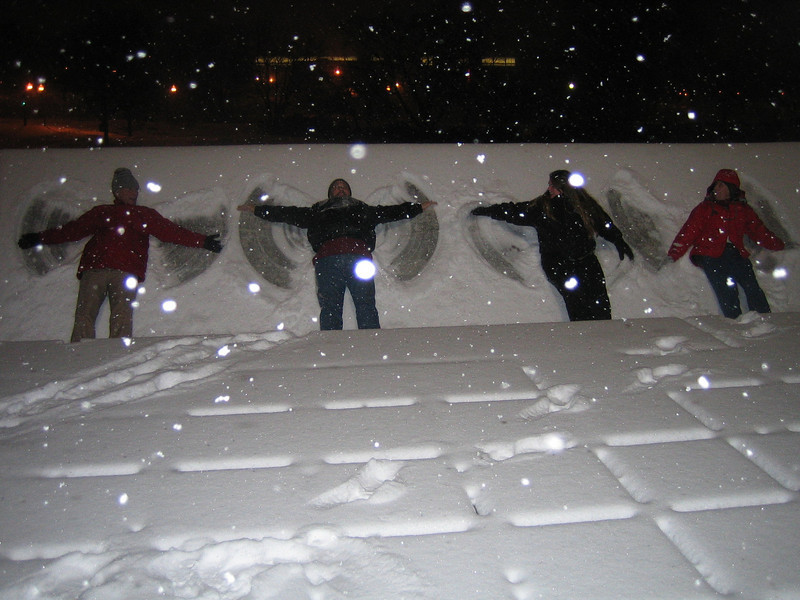 Snow Angels at U Mass, Amherst, MA Feb 12, 2008