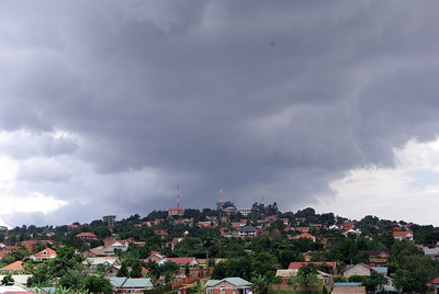 Clouds over Kampala