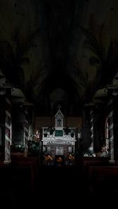 paited church