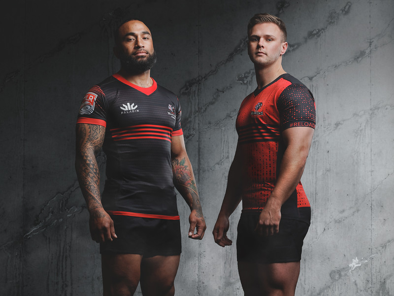 Utah Warriors Paladin 2020 Kit Reveal Shoot