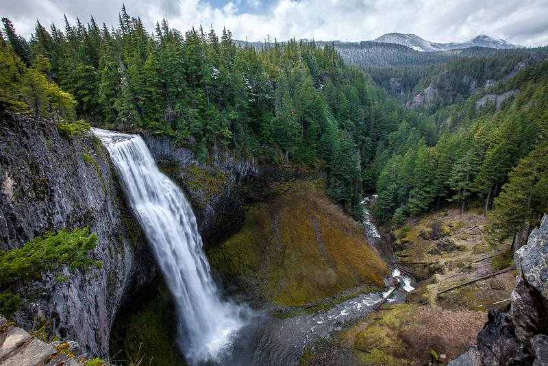 Salt Creek Falls Canyon