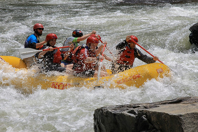 2014 - May - White water rafting