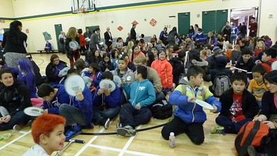 Students at Vancouver's Strathcona Elementary School