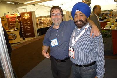 Rick Daurizio with Ravi Narula
