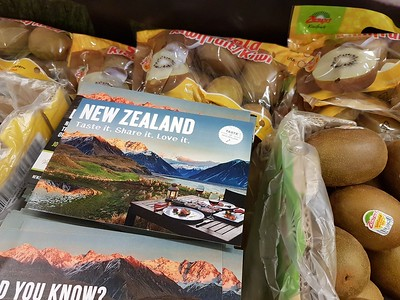 SaveOn Foods and New Zealand Trade and Enterprise created a buying experience for shoppers.