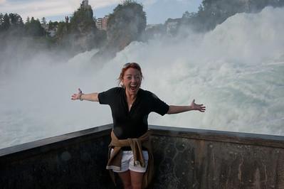 Me at Rhine Falls!
