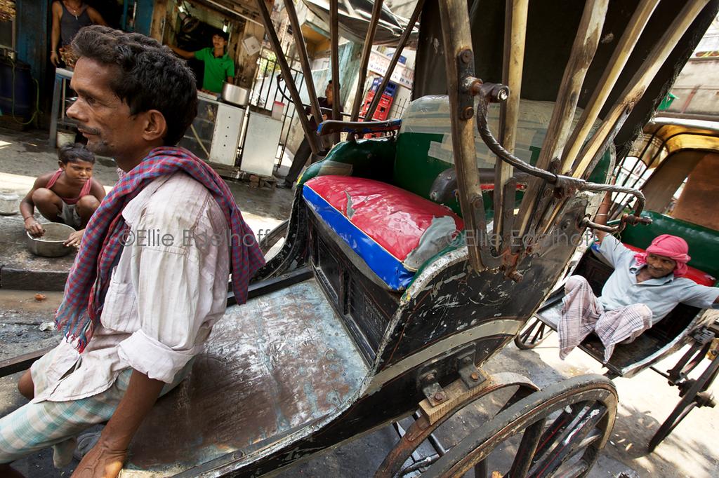 Waiting for Work - Kolkata, India