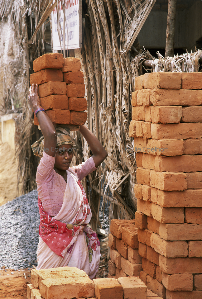 Brick by Brick- Tamil Nadu, India