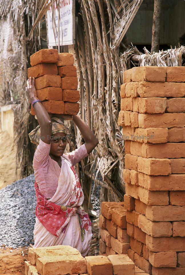 Brick by Brick- Tamil Nadu, India