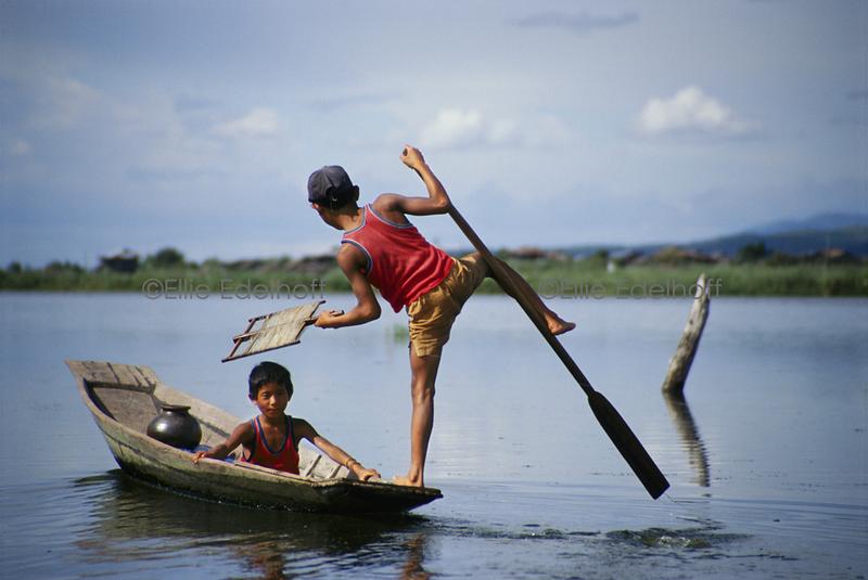 A Fine Balance - Inle Lake, Burma