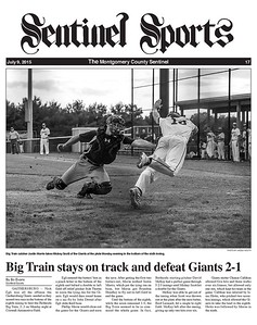 July 9, 2015 Sentinel Sports cover