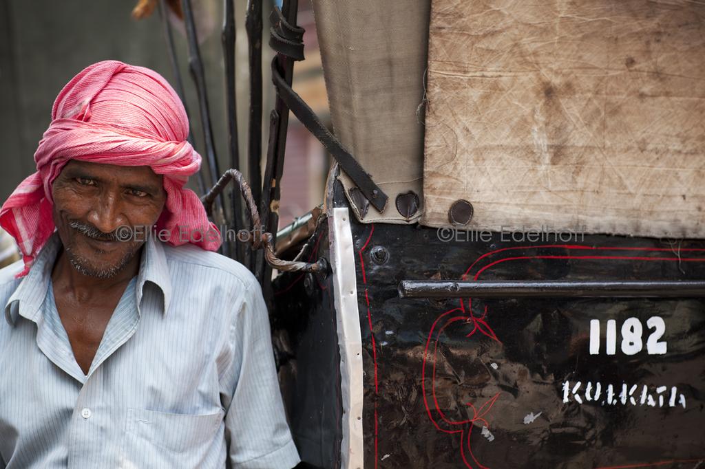 Rickshaw Wallah - Kolkata, India