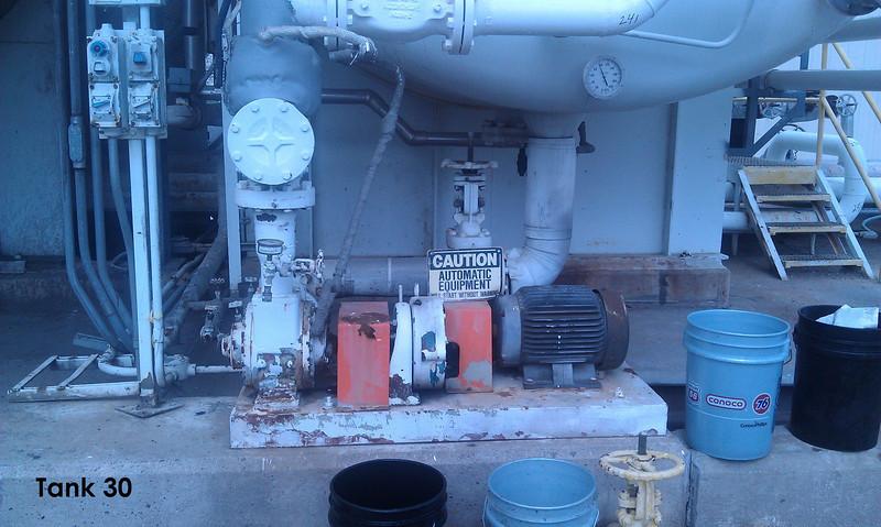 Conoco Tank 30 East Pump