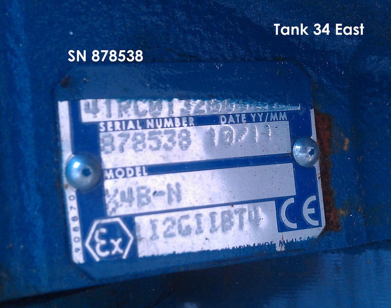 Conoco Tank 34 East
